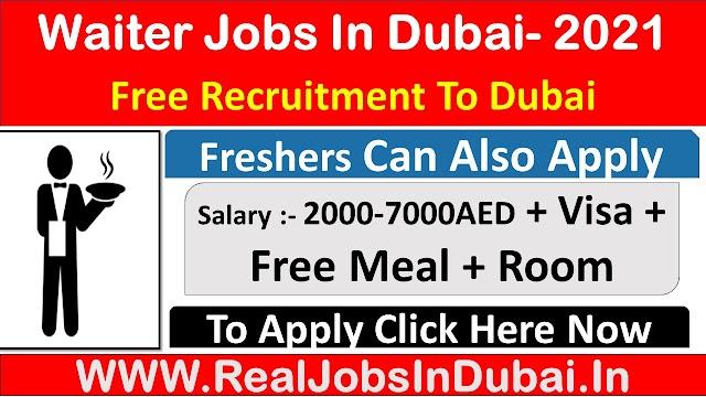 Waiter Jobs In Dubai UAE 2021