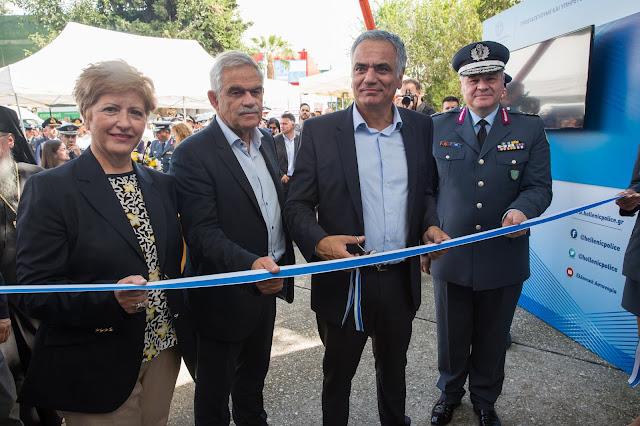 Εγκαίνια των Πληροφοριακών Κέντρων της Ελληνικής Αστυνομίας και του Πυροσβεστικού Σώματος στην 82η Δ.Ε.Θ