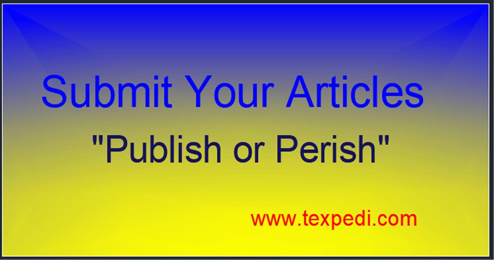 Guest post at Texpedi.com