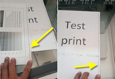 Mengatasi Hasil bergaris pada Fotocopy Minolta 362