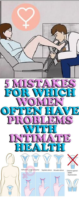 5 Mistakes for Which Women often Have Problems With Intimate Health
