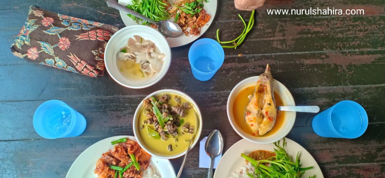 Makan masak lemak cili api di Batang Benar Negeri Sembilan