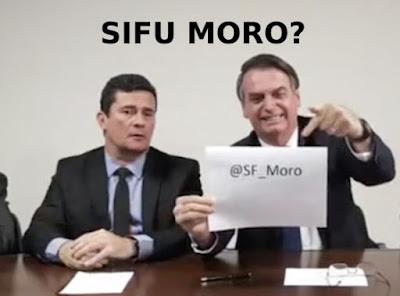 Moro com Bolsonaro