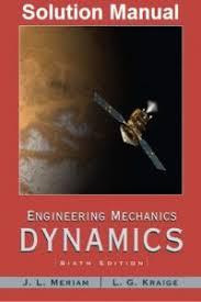 تحميل حلول كتاب ميريام داينمك pdf، Solution-Manual Dynamics Meriam 6th Edition pdf، كتب فيزياء منوعة، تحميل كتاب حلول كتاب ميريام داينمك pdf،