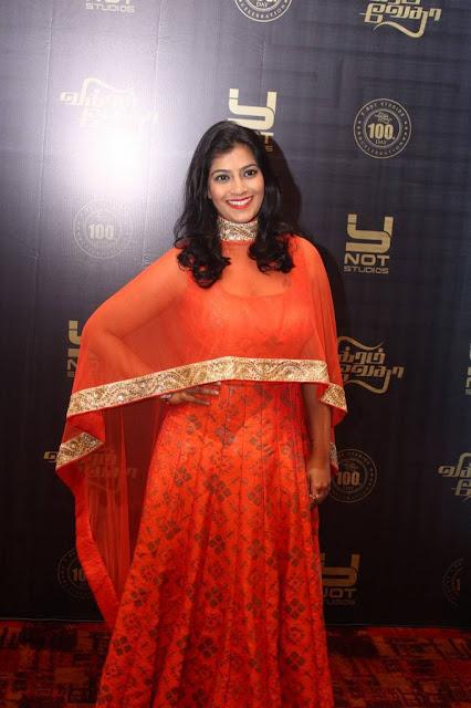 Varalaxmi Sarathkumar Stills At Movie 100 Days Celebrations Navel Queens