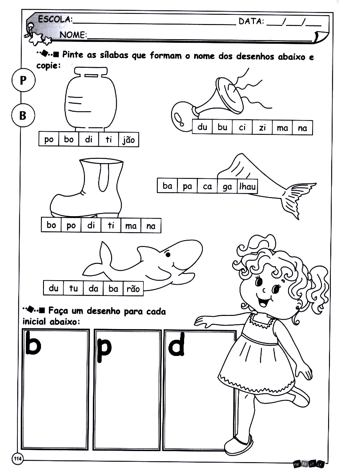 Paraiso Da Alfabetizacao Ortografia B P