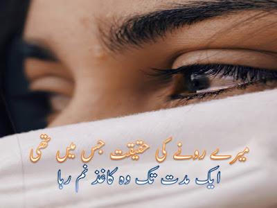 Mere Rone Ki Haqeeqat - Very Sad Poetry - Sad Urdu Poetry