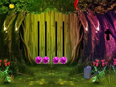 Juegos de Escape Statue Forest Escape