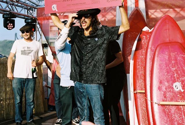 Andy Nieblas at Duct Tape Vans Festival copyright Surfin Estate