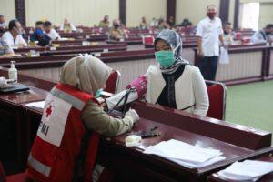 Wagub Ajak ASN Pemprov Lampung Tidak Ragu Berdonor Darah di Situasi Pandemi Covid-19