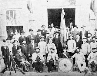Foto do Clube de Tiro Alemão no Museu Histórico de São Leopoldo