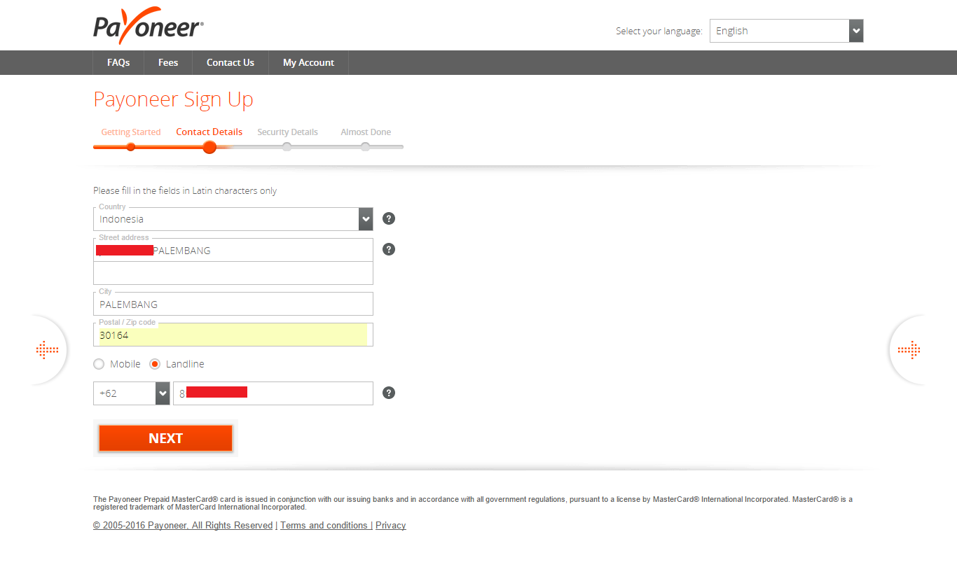 cara mendaftar payoneer terbaru