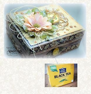 Akcja:Reperacja u Adzika - recykling pudełko po herbacie