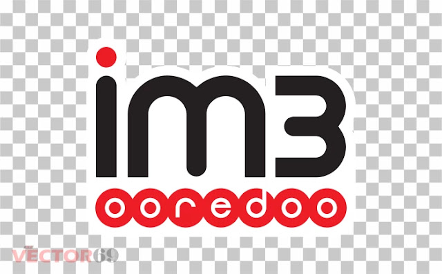 Logo im3 Ooredoo - Download Vector File PNG (Portable Network Graphics)