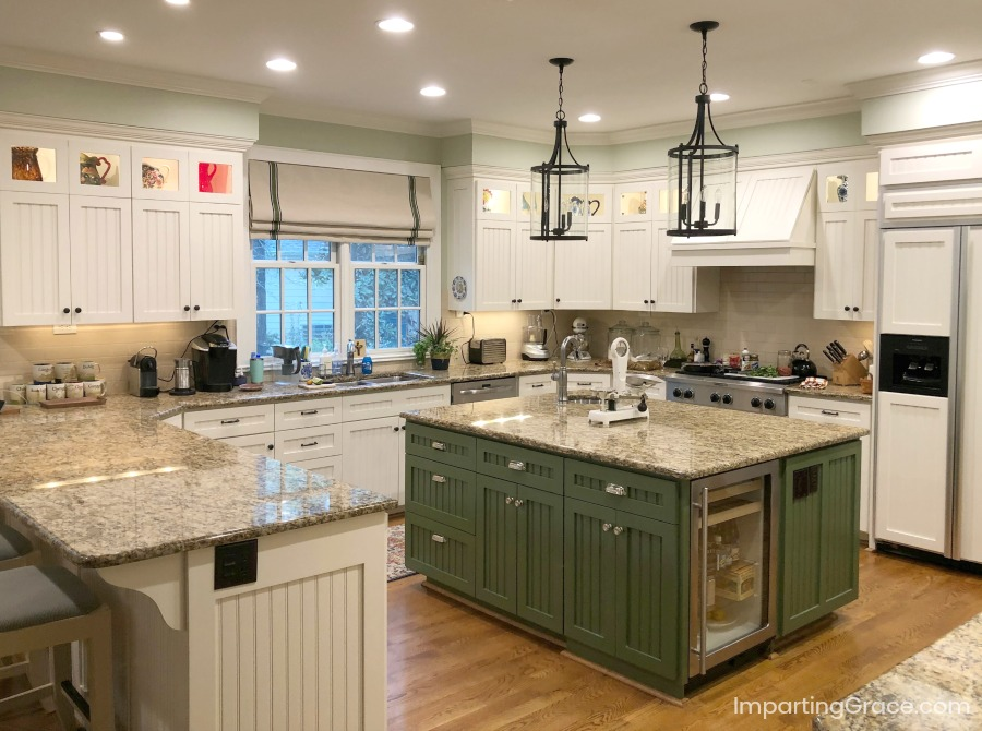 Imparting Grace: Open house: my updated kitchen