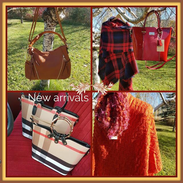 fashion purses and wraps at the Camellia