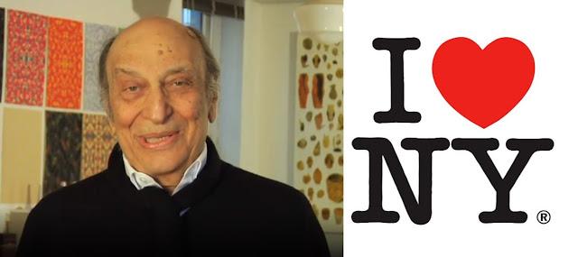 Designer Of The Iconic 'I love NY' Logo, Milton Glaser, Dies On His 91st Birthday
