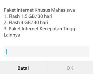 Cara daftar paket internet 4GB 50rb Telkomsel 2019