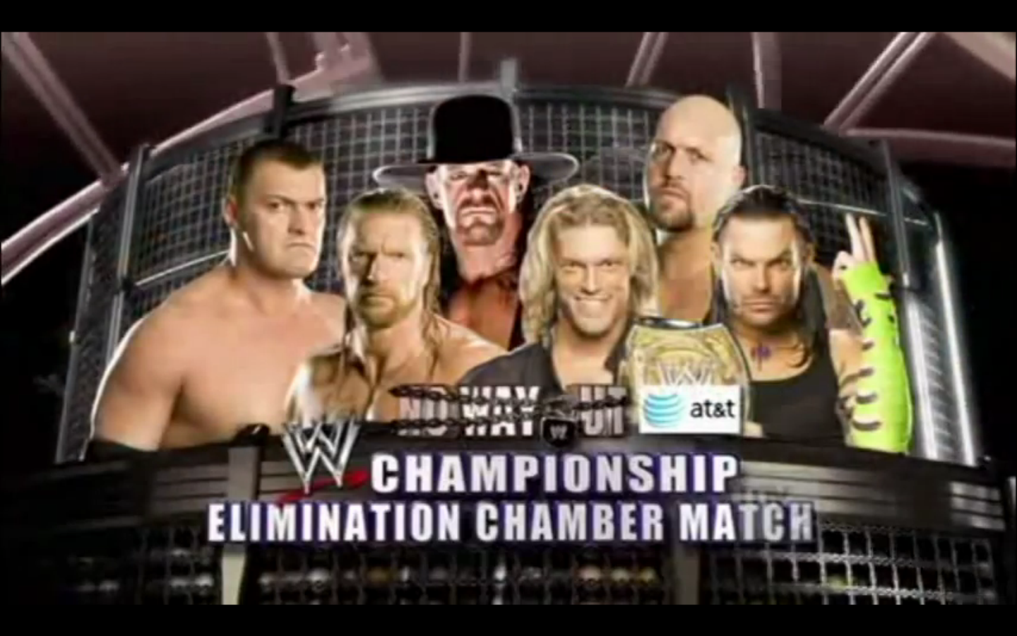 Resultado de imagen de Edge (c) vs. Jeff Hardy vs. Triple H vs. Vladimir Kozlov vs. Big Show vs. Undertaker