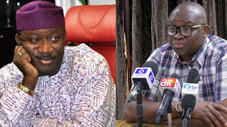 BATTLE READY!! Fayemi, APC Hire 35 SANs, And Lawyers To Battle PDP