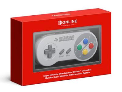 Il controller Super Nintendo per gli abbonati di Nintendo Switch Online