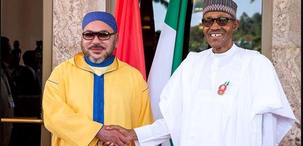 مباحثات هاتفية بين الملك محمد السادس والرئيس النيجيري