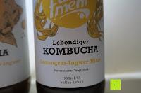 Lemongras-Ingwer-Minze: fariment - 3 Liter Original Bio Kombucha Tee Getränk natürlich fermentiert und nicht pasteurisiert / Rohkost (3er Mix)