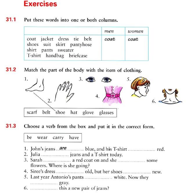 glass and chosen verb