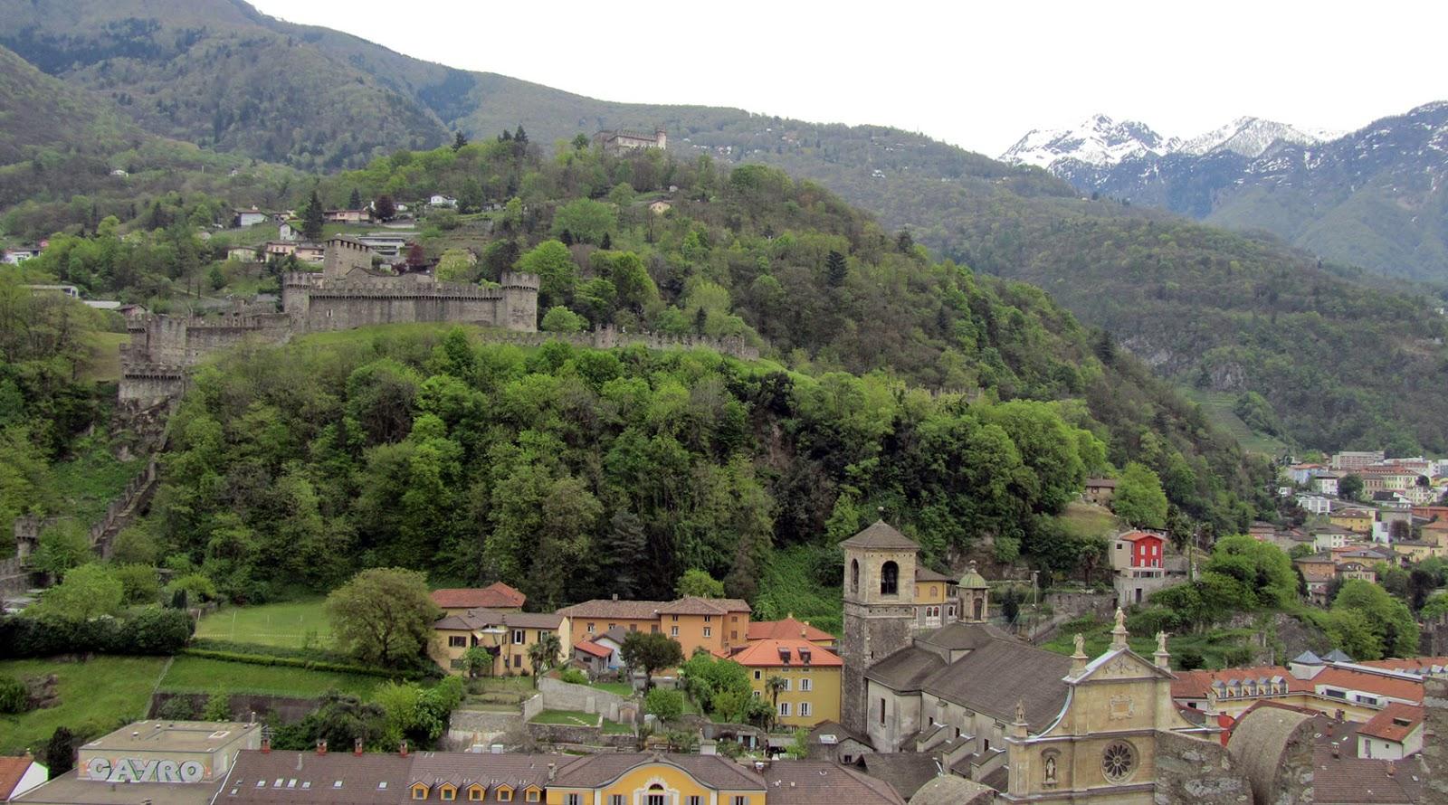 Ticino_Bellinzona Castillos