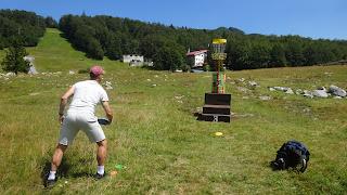 Disc golf teren Platak