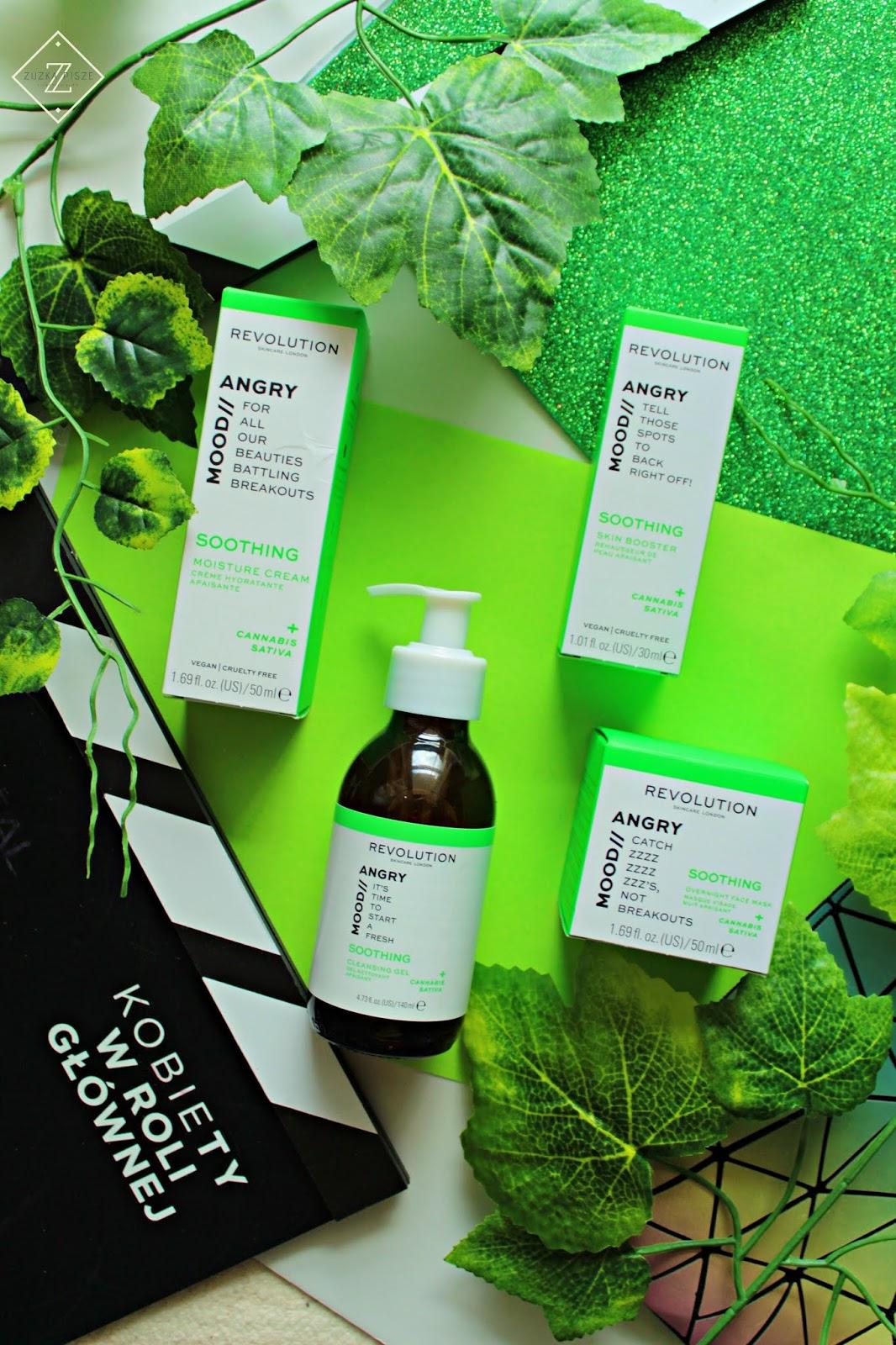 Kosmetyki do pielęgnacji twarzy REVOLUTION SKINCARE - MOOD / ANGRY