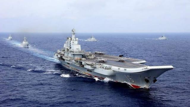 China Pamer Dua Kapal Induk, Militer China Makin Jumawa