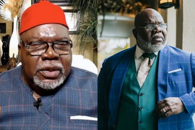 American Bishop TD Jakes Narrates How He Traced His Roots To Nigeria, Discovered His Ancestors Were Igbo