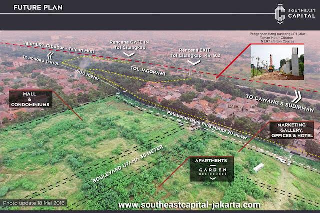 Future Plan Southeast Capital Jakarta