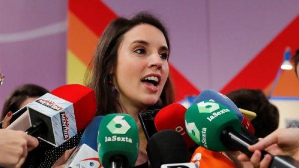 Ministra de Igualdad de España da positivo para coronavirus