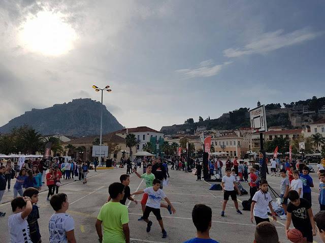 Με επιτυχία ξεκίνησε το διήμερο τουρνουά μπάσκετ 3Χ3 στο Ναύπλιο