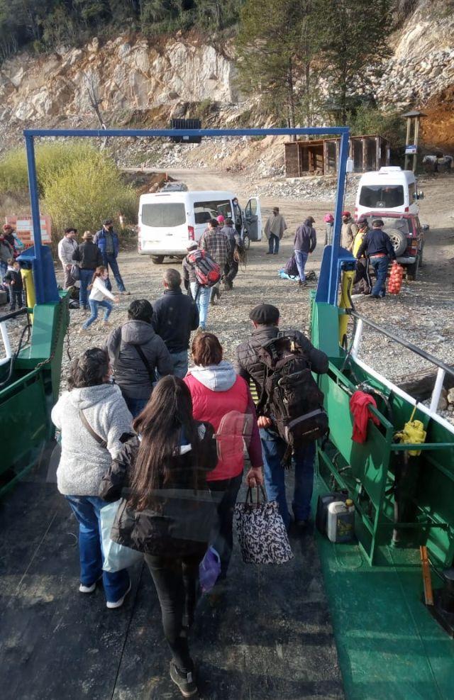 Transporte público Los Lagos