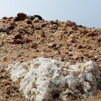 White stone | sand