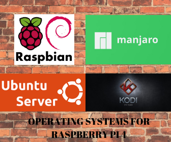 Operating System for Raspberry pi 4 (32/64 bit) - Last one will surprise you