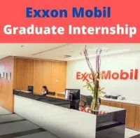 ExxonMobil Upstream Nigeria Graduate Internship (Engineering/Geoscience) 2021