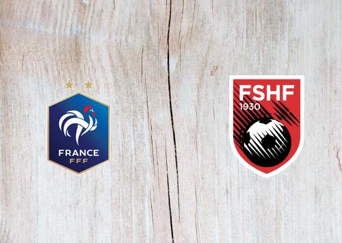 France vs Albania Full Match & Highlights 7 September 2019