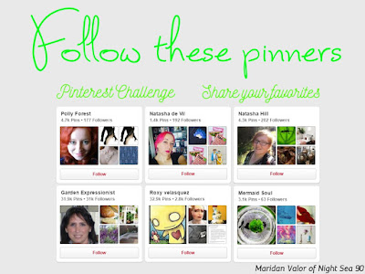 April Pinterest Challenge; people to follow, share some of your favorite Pinterest accounts and see a few of mine.