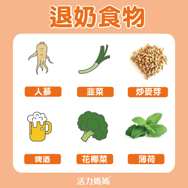 退奶食物:人參、啤酒、韭菜、炒麥芽