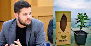 Ο Γεωπόνος Που ξεκίνησε από ένα χωριό της Κορινθίας και έφτιαξε την «ελιά στο κουτί» που μπορεί να ταξιδέψει παντού