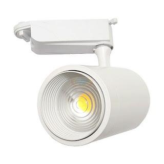 28W COB LED軌道投射燈,可調焦距,LED軌道燈