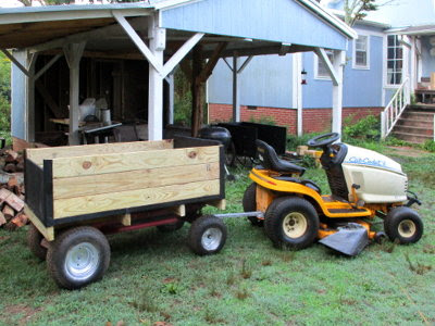 5 Acres & A Dream: Tractor Wagon