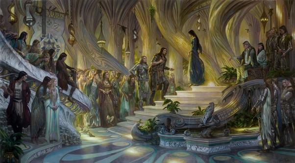 Los elfos de Tolkien para Dungeons & Dragons - Elfos Sindar