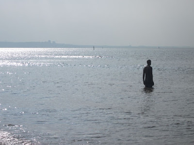 man in sea