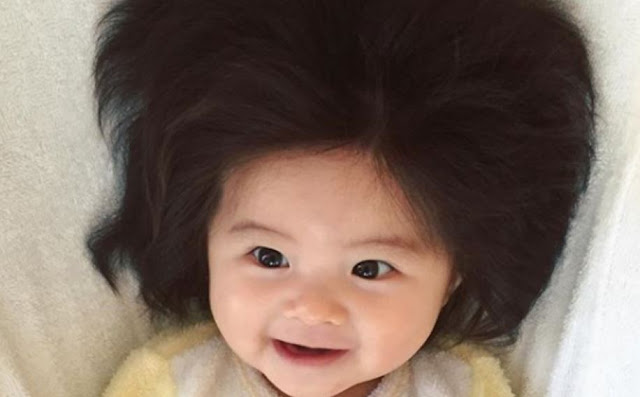 Viral Rambut Bayi Jepang Berbentuk Unik, Bayi Ini Langsung Mendapatkan Hal Tak Terduga Ini