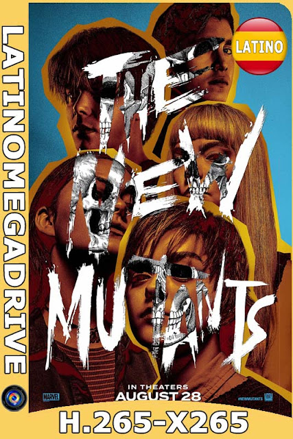 The New Mutants (2020) Latino [BDrip] [x265] HEVC HD [1080P] [GoogleDrive] [Mega] DizonHD